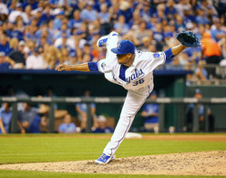Kansas City Royals pitcher Edinson Volquez (36)