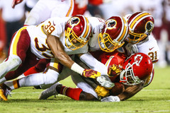 Washington Redskins vs Kansas City Chiefs