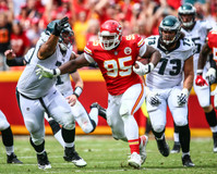 Kansas City Chiefs defensive lineman Chris Jones (95)