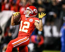 Kansas City Chiefs wide receiver Albert Wilson (12)