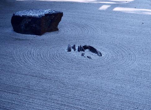 Zen Rock Garden, Japan