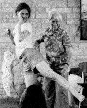 Marjorie Barstow with Martha Hansen Fertman