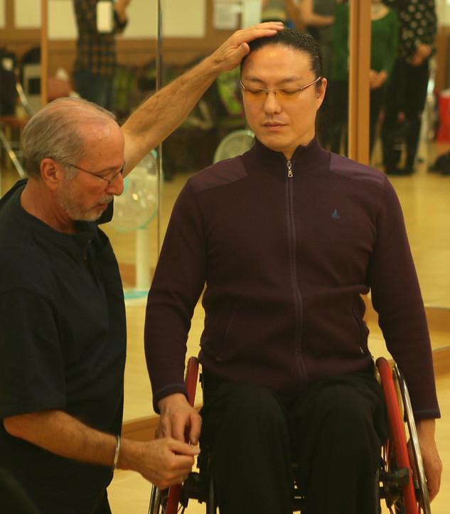 Bruce Fertman with 김용우, Seoul, Korea