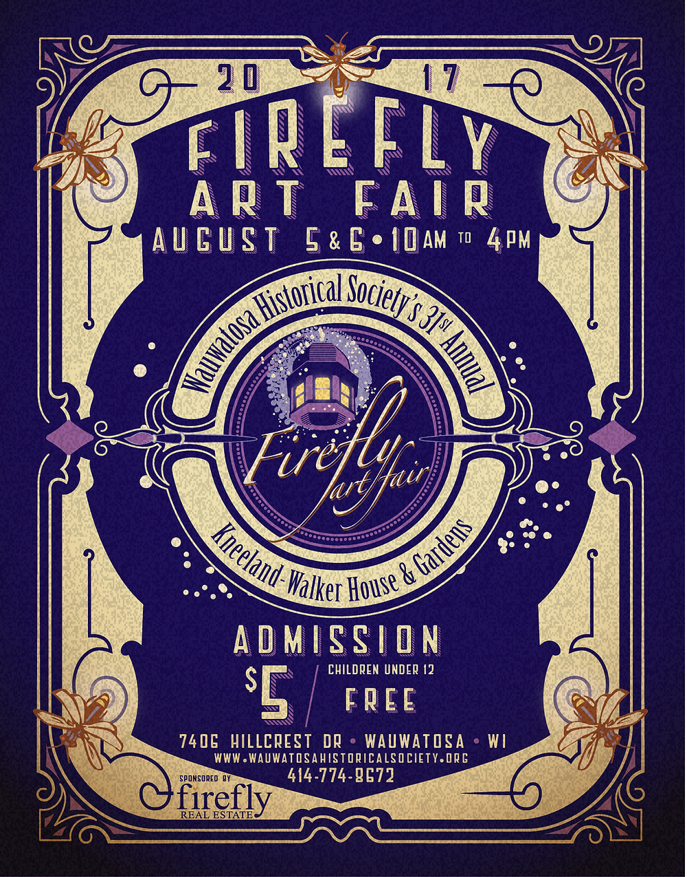 The Firefly art fair will feature original paintings from several collections, posters and notecards