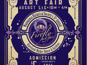 Exhibits at Ovation Communities and  Firefly Art Fair