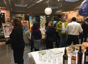 Wine, Cheese, and Art...S'il Vous Plait