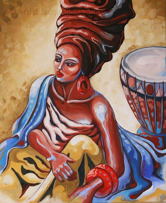 Femme au Tambour