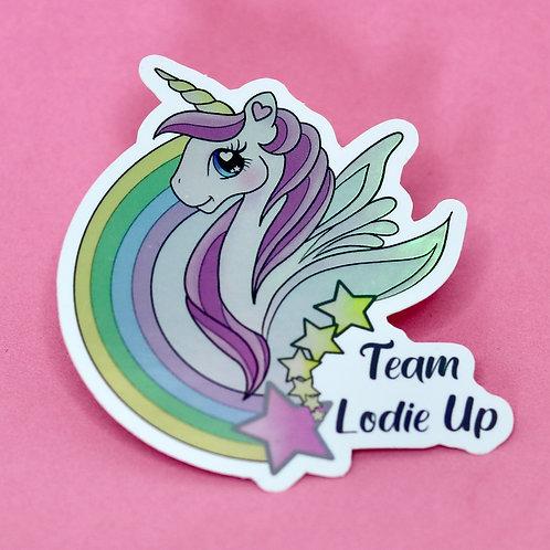 Team Lodie Up - Sticker Holographique