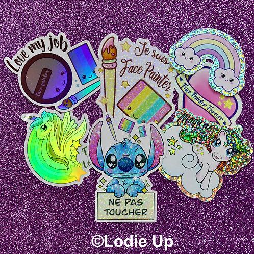 Stickers Set Complet Français - Lodie Up