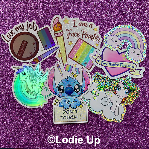 Stickers Set Complet English - Lodie Up