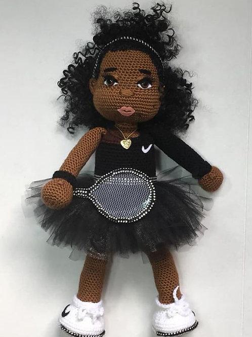 Serena Williams Doll US Open 2018