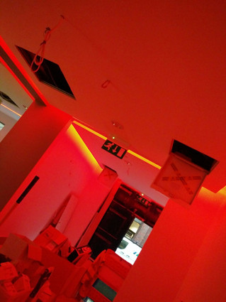 Reception RGBW Lighting