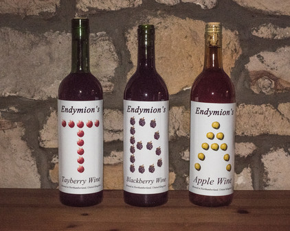 Homemade Wines labelled