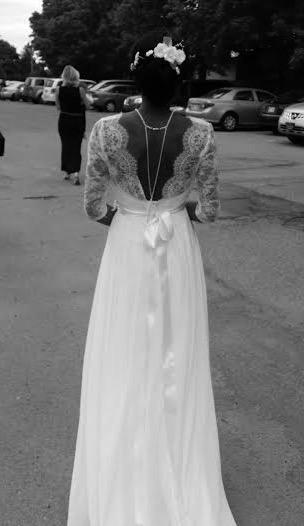 Robe de mariée dos de dentelle