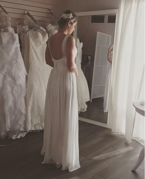 Robe de mariée boho