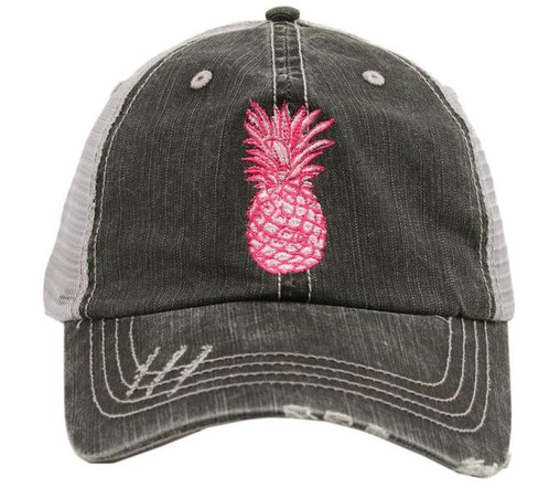 7e7050bd64310 Be a pinapple and stand tall in this trucker hat!