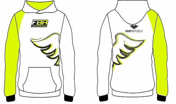 Official FBR Hoodie White