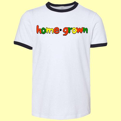 'Home•grown' Ringer Tee