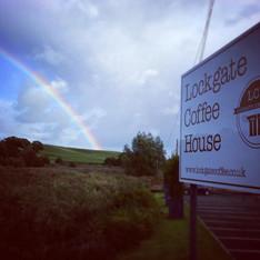 Rainbows at Lockgate