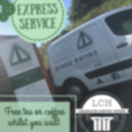 Free Lockgate Tea or Coffee with Express