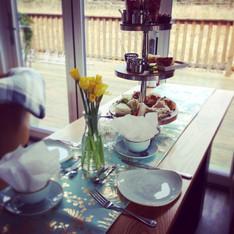 Afternoon Tea at Lockgate
