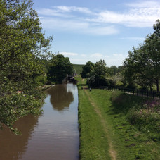 View from the canal bridge