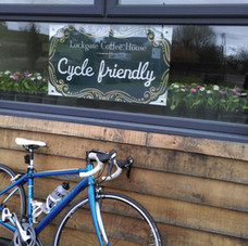 Cycle friendly at Lockgate