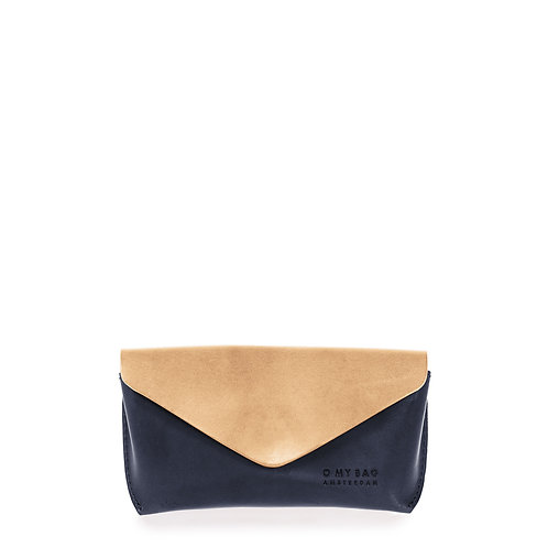 O My Bag Spectacle Case Classic Natural Navy