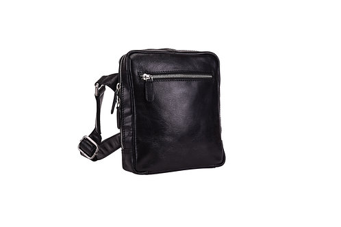 Leonhard Heyden Cambridge Crossbody Zwart