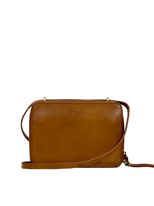 O My Bag Bee's Box Bag Classic Cognac