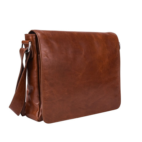 Leonhard Heyden Cambridge Messenger M Cognac