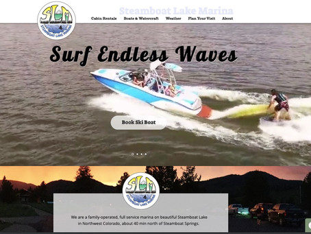 A New Web Site is Like a New Boat