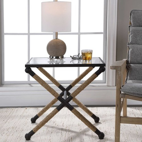 Uttermost BRADDOCK ACCENT TABLE #24983