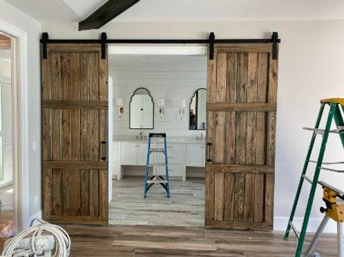 3-Panel Double Doors
