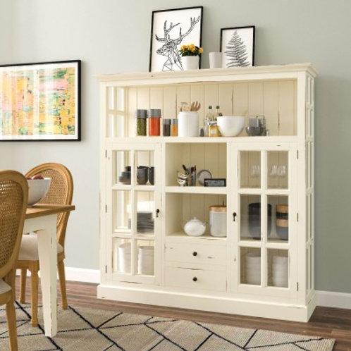 Bramble Cape Cod Kitchen Cupboard W/ Drawers - WHD DRW #21627
