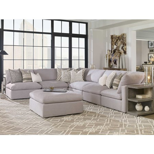 HAVEN SOFA, ARMLESS DOVE GRAY #R23552