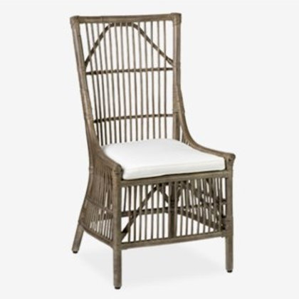 Jeffan Winston Rattan Dining Side Chair #WR-WS-102-GR (2 per box)