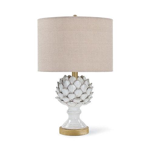Regiona Andrew Leafy Artichoke Ceramic Table Lamp 13-1194