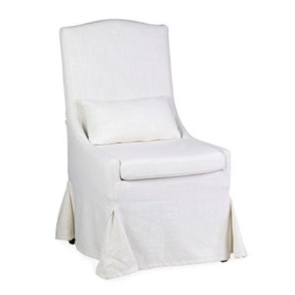 Jeffan Arabella Slipcovered Dining Chair #US-45402-CR