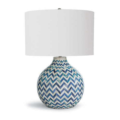 Regina Andrew Chevron Bone Table Lamp 13-1200