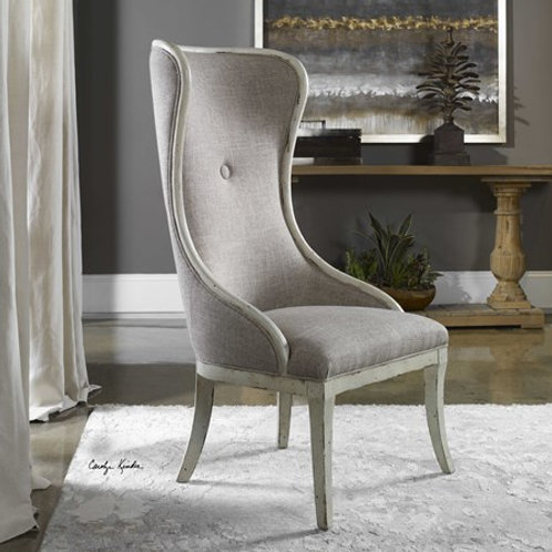 Uttermost SELAM WING CHAIR #23218