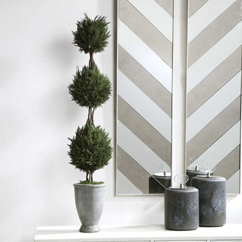 Uttermost CYPRESS TRIPLE TOPIARY #60172