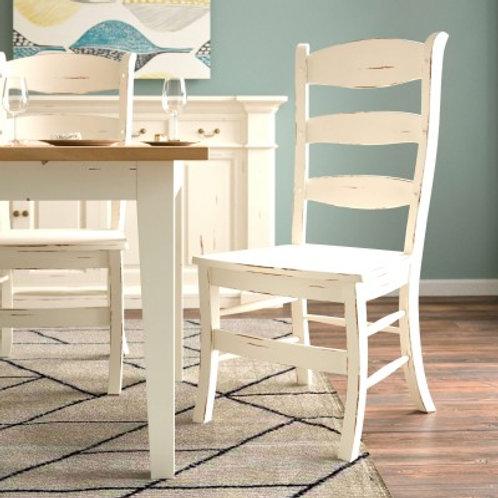 Bramble Peg & Dowel Ladder Back w/ Wooden Seat - WHD  #23779