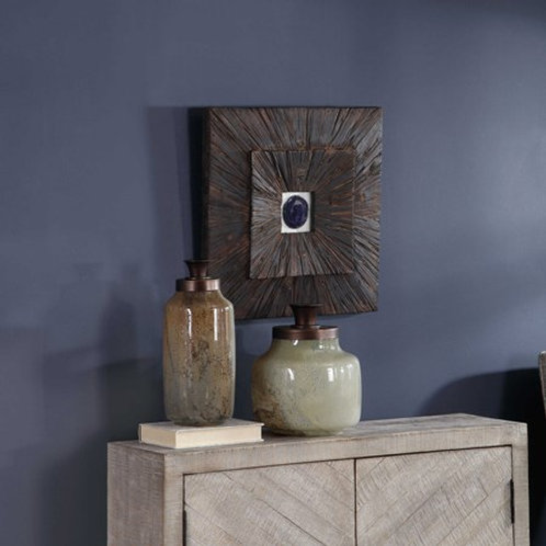 Uttermost ANIKA WOOD WALL DECOR #04190