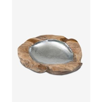 Jeffan Natura Metal Lined Bowl  OR-RW620