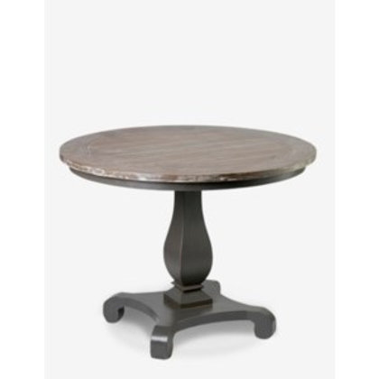 "Jeffan Remington 40"" Round Table With Two Tone Color #UT-61401"