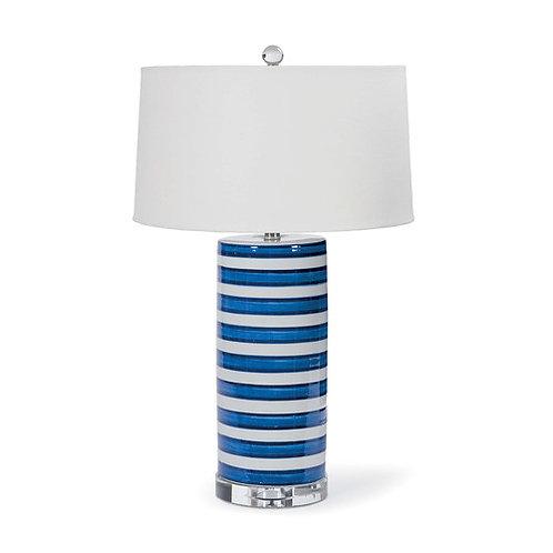 Regina Andrew Striped Column Table Lamp 13-1115