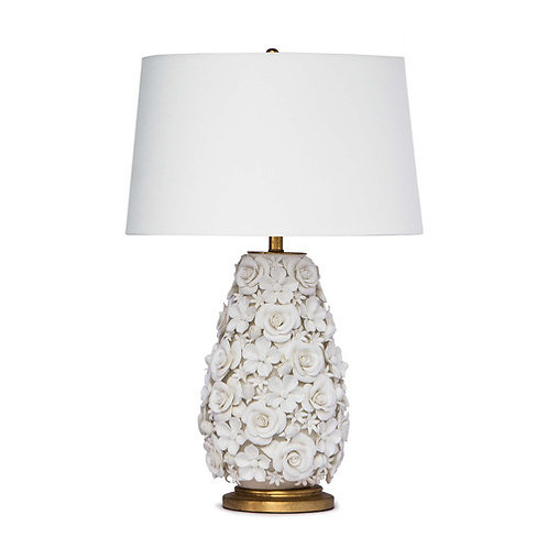 Regina Andrew Alice Porcelain Flower Table Lamp 13-1257