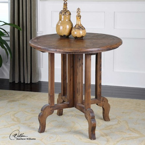 UTTERMOST IMBER SIDE TABLE  #24372