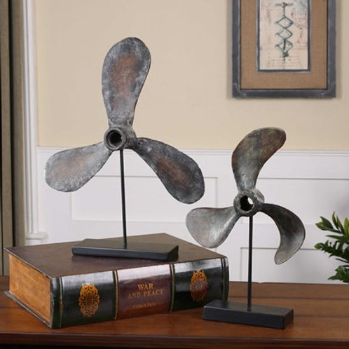 Uttermost PROPELLERS SCULPTURE, S/2  19947